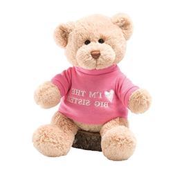 GUND I'm the Big Sister T-Shirt Teddy Bear Stuffed Animal Pl