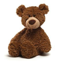"""GUND Pinchy Teddy Bear Stuffed Animal Plush, Brown, 17"""""""