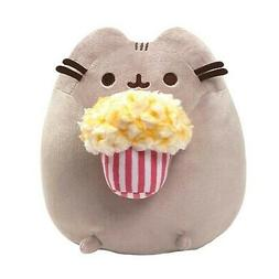 GUND - Pusheen Snackable Popcorn Cat Plush Stuffed Animal 9.