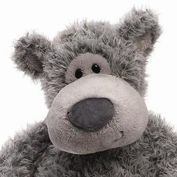 GUND Slouchers Teddy Bear Stuffed Animal Plush, Gray, 20""