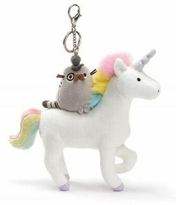 Gund 4061444 Super Fancy Pusheen Cat on Unicorn Deluxe Key C