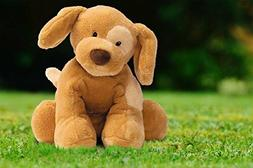 Gund Dog Spunky Plush Toy, Light Brown Tan, Perfect First Fr