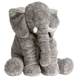 Ikea JATTESTOR 202.980.33 Soft Toy, Elephant, Grey, 23.5 Inc