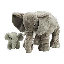 Ikea LEDDJUR 802.980.30 Soft Toy, Set of 2, Elephant, 13 Inc