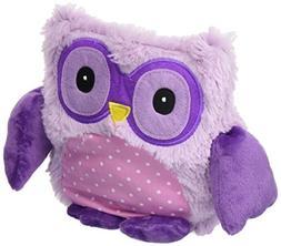 Intelex Hooty Microwaveable Plush, Purple