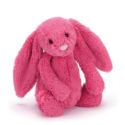 Jellycat Bashful Strawberry Bunny, Medium - 12 inches