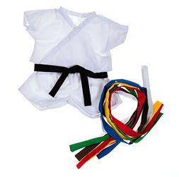 "Karate Uniform Outfit Teddy Bear Clothes Fit 14"" - 18"" Build"
