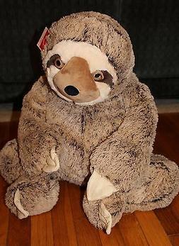 "Large SLOTH Plush 36"" Big Stuffed Animal Gift Huge Giant Jum"