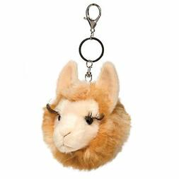 Llama Stuffed Animal Pom Clip On 4""