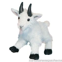 """MAGGIE Douglas 7"""" stuffed animal MOUNTAIN GOAT WHITE plush c"""