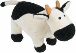 Mary Meyer Cow Earthmates Fuzz that Wuzz Recycled Black Whit