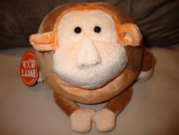Max The Monkey Stuffed Animals Toy - Round Soft Ball -Goof B