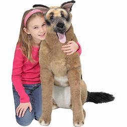 Melissa & Doug Giant German Shepherd - Lifelike Stuffed Anim