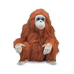Melissa & Doug Giant Orangutan - Lifelike Stuffed Animal