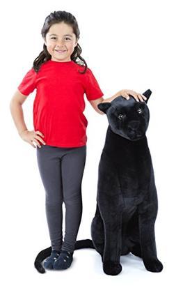 Melissa & Doug Giant Panther - Lifelike Stuffed Animal