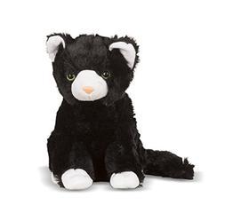 Melissa & Doug Midnight Cat Stuffed Animal