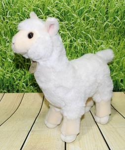 "Miyoni ALPACA 11"" Plush Standing Stuffed Animal Aurora NEW"