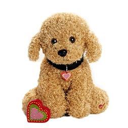 My Baby's Heartbeat Bear Furbaby's: Doodle Stuffed Animal wi
