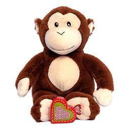 My Baby's Heartbeat Bear - Monkey Stuffed Animal w/a 20 sec.