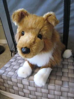 NWT Douglas Sheba Collie Stuffed Animal Dog Puppy - Retired