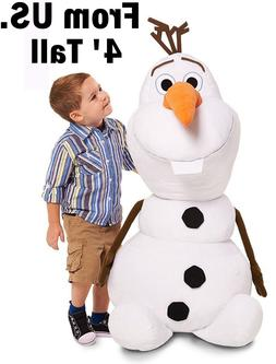Olaf Stuffed Jumbo Big Giant Animal Plush Toy Chest Kid Game
