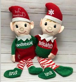 Personalized Elf, Christmas Elves Plushie stuffed animals