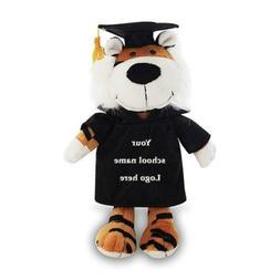 Personalized Tiger Plush Stuffed Animals Graduation Custom B