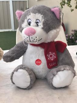 "PetSmart 2017 SqueakCat toy new 17"" plush stuffed Animal"