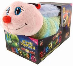 Pillow Pets Worm Glow Pets - Lightning Bug Glow in the Dark