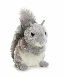 Plush Nutty Gray Squirrel 6.5""