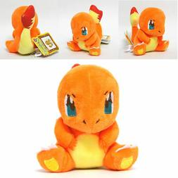Pokemon Center Charmander Plush Doll Figure Stuffed Animal T