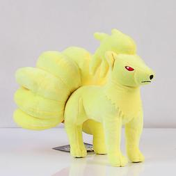 Pokemon Plush Toy Nine Tails Ninetales Stuffed Animals 10 in