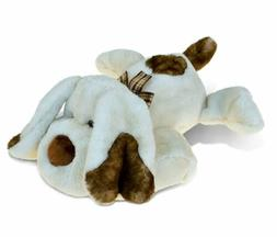 Puzzled Lying Dog Super-Soft 14-inch Stuffed Plush Cuddly An