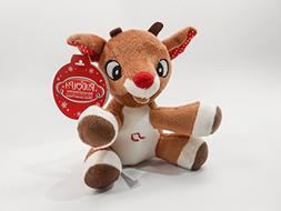 Rudolph, The Red-Nosed Reindeer, MUSICAL 5 inch  Plush Toy ,