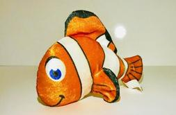 Small 7 Inch Clown Fish Plushie Stuffed Animal Nemo