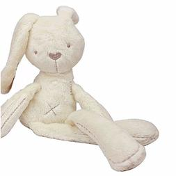 Soft Snuggle Bunny Plush - Childs first bubby doll - Natural