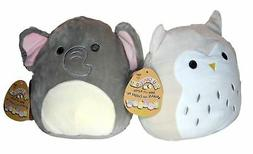 Squishmallows Baby Stuffed Animal Toy with Rattle 2 PACK -8