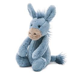 Stuffed Animals & Teddy Bears Bashful Donkey Animal, Small,