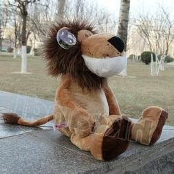 Stuffed Animals soft toys lion Christmas brown hair lion plu