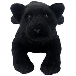 TAGLN Lifelike Stuffed Animals Toys Black Panther Plush Pill