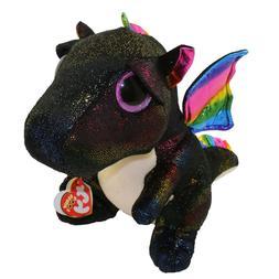 "TY 9"" Medium ANORA Dragon Beanie Boos Plush Stuffed Animal w"