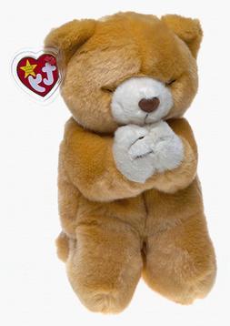 "TY BEANIE BUDDIES ""HOPE"" BEAR PLUSH STUFFED ANIMAL Large - C"