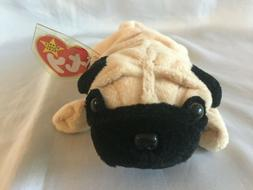TY Beanie Babies - Pugsly the Pug Dog