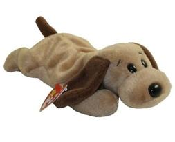 TY Beanie Baby - BONES the Dog  - MWMTs Stuffed Animal Toy