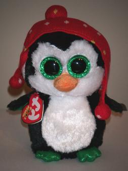 "TY Beanie Boo Plush - Freeze the Penguin 6"""