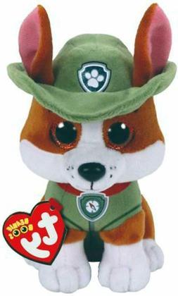 """TY Beanie Boos 6"""" Paw Patrol TRACKER Chihuahua Dog Plush Stu"""