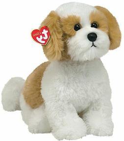 TY Classic - Barley - Beige dog with White TY Classic - Barl