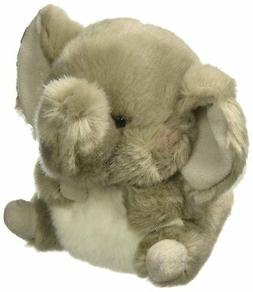 Trumpeter Elephant Rolly Pet 5 inch - Stuffed Animal by Auro
