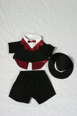 "Tuxedo Outfit Teddy Bear Clothes Fit 14"" - 18"" Build-a-bear,"