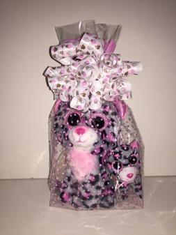 "Ty 36151 ""Tasha Leopard Beanie Boos Plush Toy"